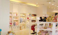Торговое оборудование БЕЛАЯ КЛАССИКА для детского магазина Винни ТЦ Dream House Фото 02