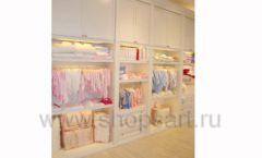 Торговое оборудование БЕЛАЯ КЛАССИКА для детского магазина Винни ТЦ Dream House Фото 03
