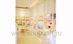 Торговое оборудование БЕЛАЯ КЛАССИКА для детского магазина Винни ТЦ Dream House Фото 04