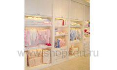 Торговое оборудование БЕЛАЯ КЛАССИКА для детского магазина Винни ТЦ Dream House Фото 05