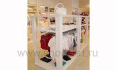 Торговое оборудование БЕЛАЯ КЛАССИКА для детского магазина Винни ТЦ Dream House Фото 08