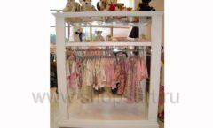 Торговое оборудование БЕЛАЯ КЛАССИКА для детского магазина Винни ТЦ Dream House Фото 09