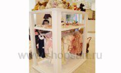 Торговое оборудование БЕЛАЯ КЛАССИКА для детского магазина Винни ТЦ Dream House Фото 10
