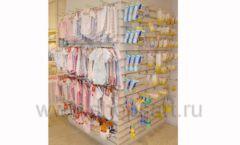 Торговое оборудование БЕЛАЯ КЛАССИКА для детского магазина Винни ТЦ Dream House Фото 11