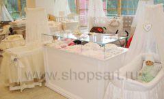 Торговое оборудование БЕЛАЯ КЛАССИКА для детского магазина Винни ТЦ Dream House Фото 13
