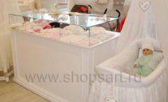 Торговое оборудование БЕЛАЯ КЛАССИКА для детского магазина Винни ТЦ Dream House Фото 14
