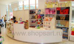 Торговое оборудование БЕЛАЯ КЛАССИКА для детского магазина Винни ТЦ Dream House Фото 15