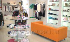 Торговое оборудование БЕЛАЯ КЛАССИКА для детского магазина Жирафа Фото 08