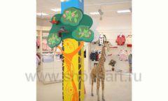 Торговое оборудование БЕЛАЯ КЛАССИКА для детского магазина Жирафа Фото 15