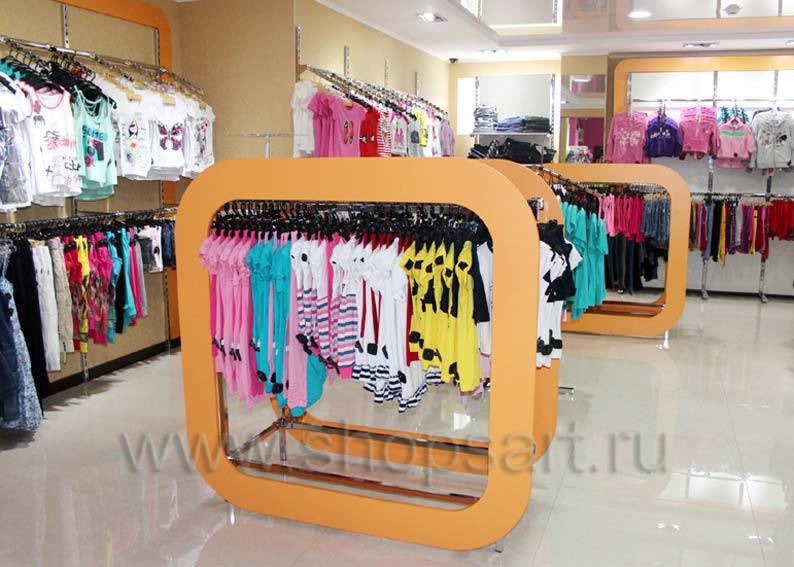 Торговое оборудование для детского магазина Солнышко РОЗОВАЯ ФАНТАЗИЯ Фото