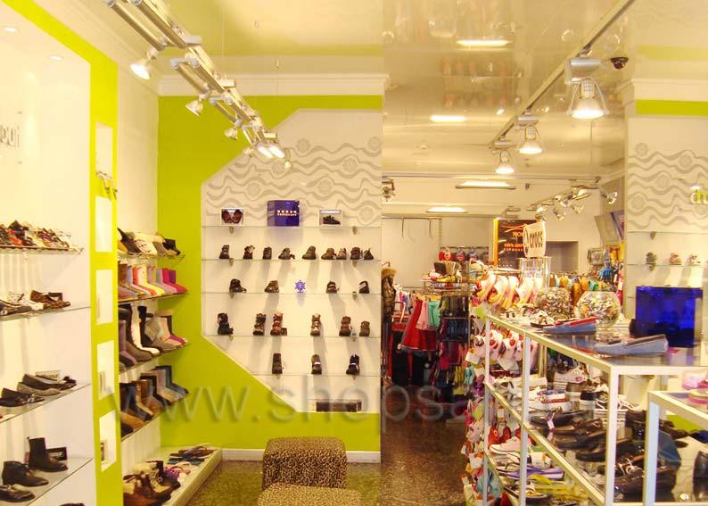 Торговое оборудование для детского магазина Винни обувь Рублевское шоссе