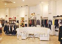 Торговое оборудование для детского магазина Винни одежда ТЦ Юнимолл 21 ВЕК