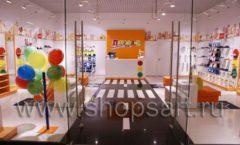 Торговое оборудование КАРАМЕЛЬ для детского магазина обуви Пешеходик Фото 01