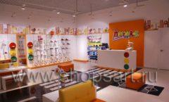 Торговое оборудование КАРАМЕЛЬ для детского магазина обуви Пешеходик Фото 04
