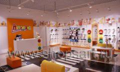 Торговое оборудование КАРАМЕЛЬ для детского магазина обуви Пешеходик Фото 05