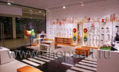 Торговое оборудование КАРАМЕЛЬ для детского магазина обуви Пешеходик Фото 07