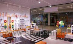 Торговое оборудование КАРАМЕЛЬ для детского магазина обуви Пешеходик Фото 08
