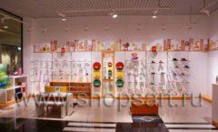 Торговое оборудование КАРАМЕЛЬ для детского магазина обуви Пешеходик Фото 09