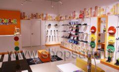 Торговое оборудование КАРАМЕЛЬ для детского магазина обуви Пешеходик Фото 11