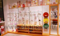 Торговое оборудование КАРАМЕЛЬ для детского магазина обуви Пешеходик Фото 13