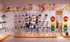Торговое оборудование КАРАМЕЛЬ для детского магазина обуви Пешеходик Фото 14
