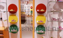 Торговое оборудование КАРАМЕЛЬ для детского магазина обуви Пешеходик Фото 15