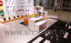Торговое оборудование КАРАМЕЛЬ для детского магазина обуви Пешеходик Фото 16
