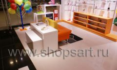 Торговое оборудование КАРАМЕЛЬ для детского магазина обуви Пешеходик Фото 17