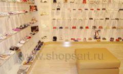 Торговое оборудование отдела обуви магазина Винни ТЦ Dream House Фото 04