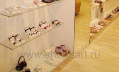 Торговое оборудование отдела обуви магазина Винни ТЦ Dream House Фото 11