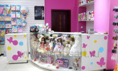 Торговое оборудование РОЗОВАЯ ФАНТАЗИЯ для детского магазина Солнышко Фото 10