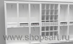 Визуализация детского магазина 2 Белая классика