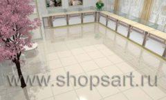 Дизайн интерьера 2 ювелирного магазина Обручальное кольцо коллекция ЭЛИТ ГОЛД Дизайн 1