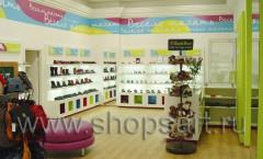Фото детского магазина обуви Весело шагать Ленинский проспект КАРАМЕЛЬ