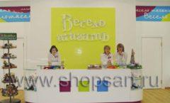 Торговое оборудование КАРАМЕЛЬ для детского магазина обуви Весело шагать Крокус Фото 06