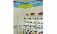 Торговое оборудование КАРАМЕЛЬ для детского магазина обуви Весело шагать Крокус Фото 09