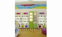 Торговое оборудование КАРАМЕЛЬ для детского магазина обуви Весело шагать Крокус Фото 12