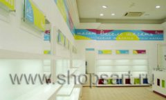 Торговое оборудование КАРАМЕЛЬ для детского магазина обуви Весело шагать Ленинский Фото 08
