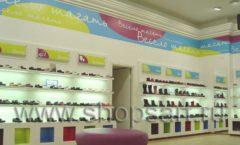 Торговое оборудование КАРАМЕЛЬ для детского магазина обуви Весело шагать Ленинский Фото 20