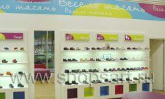 Торговое оборудование КАРАМЕЛЬ для детского магазина обуви Весело шагать Ленинский Фото 21