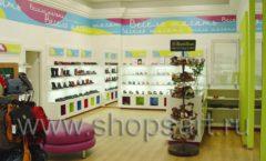 Торговое оборудование КАРАМЕЛЬ для детского магазина обуви Весело шагать Ленинский Фото 28
