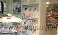 Фотографии открытого детского магазина Малышня г. Москва в мкр. Царицыно на основе коллекции АКВАРЕЛИ 2