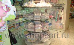 Торговое оборудование АКВАРЕЛИ для детского магазина Малышня Фото 03