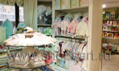 Торговое оборудование АКВАРЕЛИ для детского магазина Малышня Фото 04