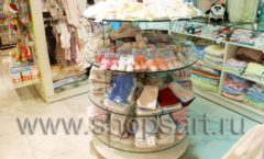 Торговое оборудование АКВАРЕЛИ для детского магазина Малышня Фото 05