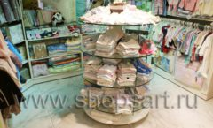 Торговое оборудование АКВАРЕЛИ для детского магазина Малышня Фото 06