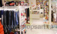 Торговое оборудование АКВАРЕЛИ для детского магазина Малышня Фото 13
