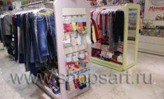 Торговое оборудование АКВАРЕЛИ для детского магазина Малышня Фото 17