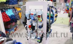 Торговое оборудование АКВАРЕЛИ для детского магазина Малышня Фото 20