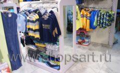 Торговое оборудование АКВАРЕЛИ для детского магазина Малышня Фото 24